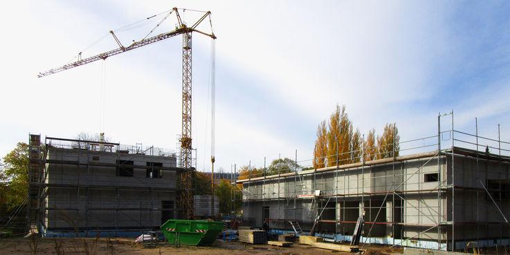 10 Millionen Euro investiert das Land M-V mit Unterstützung der Europäischen Union in den innovativen Neubau am Berthold-Beitz-Platz in Greifswald. © 2018 Betrieb für Bau und Liegenschaften Mecklenburg-Vorpommern