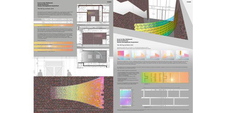 3. Platz: Wettbewerbsentwurf Atelier Lönne + Neumann  Paderborn  mit dem Titel  Mit Fug und Recht  © 2018 Atelier Lönne + Neumann  Paderborn