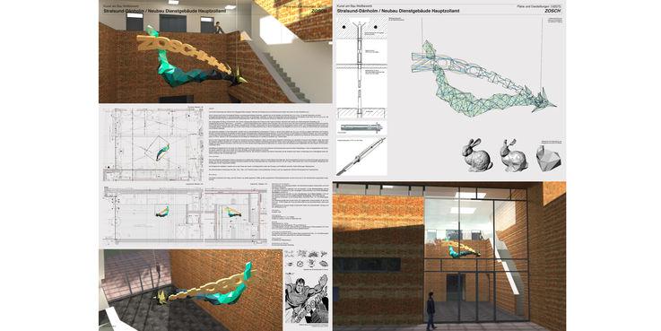 Wettbewerbsentwurf Matthias Lehmann + Susanne Jacob-Lehmann  Meißen mit dem Titel  ZOSCH  © 2018 Lehmann + Susanne Jacob-Lehmann  Meißen