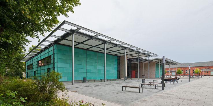 Mit dem Ulmicum wird der Campus Ulmenstraße weiter ausgebaut. © 2019 Betrieb für Bau und Liegenschaften Mecklenburg-Vorpommern