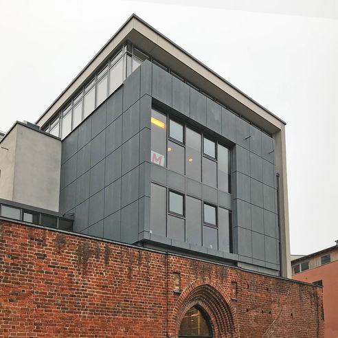 Blick zur Dachterrasse. © 2019 Betrieb für Bau und Liegenschaften Mecklenburg-Vorpommern