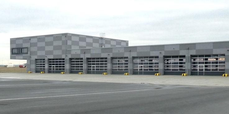 Neubau für den Besonderen Fahrdienst auf dem Flugplatz Laage ist fertiggestellt © 2019 Betrieb für Bau und Liegenschaften Mecklenburg-Vorpommern