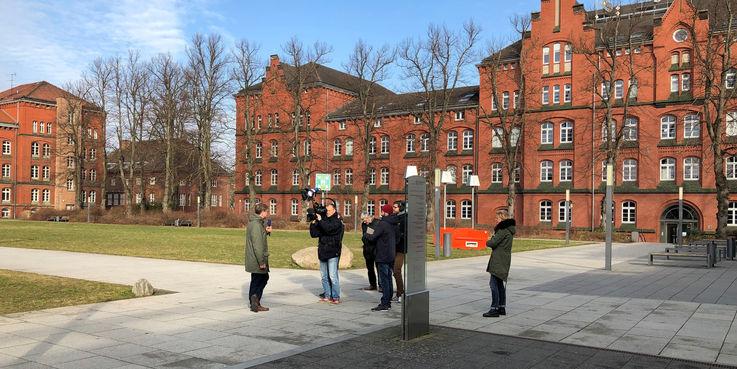 Der Campus Ulmenstraße wird mit umfangreichen Investitionen des Landes M-V zu einem von fünf Hauptstandorten der Universität Rostock entwickelt. © 2019 Betrieb für Bau und Liegenschaften Mecklenburg-Vorpommern