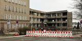 6.2.2019 - Sicherheit geht vor! Für den Abbruch ist die Ferdinandstraße für die ersten beiden Februarwochen voll gesperrt worden. © 2019 Betrieb für Bau und Liegenschaften Mecklenburg-Vorpommern