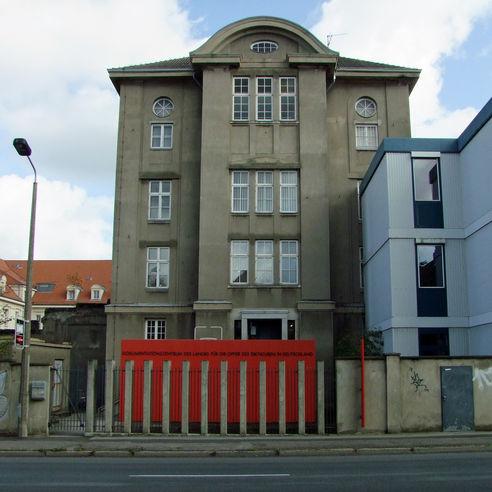 Ansicht vom Obotritenring © 2019 Betrieb für Bau und Liegenschaften Mecklenburg-Vorpommern