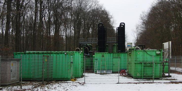 Wird am 30. April 2019 abgeschaltet - Anlage zur Aufbereitung und Reinigung des Grundwassers auf der ehemaligen WGT-Liegenschaft der Garnison Schwerin-Stern Buchholz. © 2016 Betrieb für Bau und Liegenschaften Mecklenburg-Vorpommern