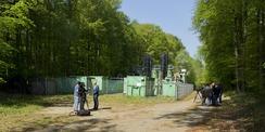 Grundwasser gereinigt  Anlage abgeschaltet - Die Presse- und Medienvertreter begleiteten die Abschaltung im April 2019 und berichteten darüber. Das Monitoring wird in den kommenden Jahren vom SBL Schwerin begleitet. © 2019 Betrieb für Bau und Liegenschaften Mecklenburg-Vorpommern