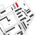 Mit dem rot markierten Neubau wird die Liegenschaft des Bundes weiter entwickelt. Der Bund stellt dafür 2 4 Millionen Euro zur Verfügung. © 2019 Betrieb für Bau und Liegenschaften Mecklenburg-Vorpommern