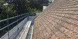 Muss bedacht werden. Die Dachziegel für das Torhaus werden speziell und in Abstimmung mit der Denkmalpflege für das Torhaus hergestellt. © 2019 Betrieb für Bau und Liegenschaften Mecklenburg-Vorpommern