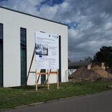 Das Baustellenschild steht seit Mai 2019. © 2019 Betrieb für Bau und Liegenschaften Mecklenburg-Vorpommern