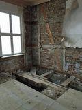 Bestandsaufnahme im Obergeschoss. © 2019 Betrieb für Bau und Liegenschaften Mecklenburg-Vorpommern