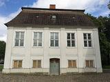 Südansicht des nördlichen Kavalierhauses © 2019 Betrieb für Bau und Liegenschaften Mecklenburg-Vorpommern