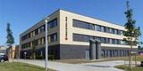 Der Neubau der Notaufnahme - Ansicht von Südosten © 2019 Betrieb für Bau und Liegenschaften Mecklenburg-Vorpommern