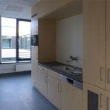 Personalaufenthaltsraum auf der Patientenpflegestation © 2019 Betrieb für Bau und Liegenschaften Mecklenburg-Vorpommern