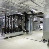 Technikzentrale im Untergeschoss © 2019 Betrieb für Bau und Liegenschaften Mecklenburg-Vorpommern