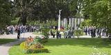 Herzlich willkommen! Ca. 200 Gäste folgten an diesem sonnigen Tag der Einladung zur feierlichen Übergabe des Schlossgartens Neustrelitz in den Orangeriegarten. © 2019 Betrieb für Bau und Liegenschaften Mecklenburg-Vorpommern