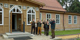 Die feierliche Schlüsselübergabe wurde durch die Bläser eröffnet. © 2019 Betrieb für Bau und Liegenschaften Mecklenburg-Vorpommern