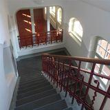 Blick in eines der historischen Treppenhäuser © 2018 Betrieb für Bau und Liegenschaften Mecklenburg-Vorpommern