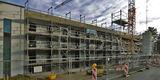 Für 6 1 Millionen Euro entsteht der Bauteil II der Forschungshalle an der Universität Rostock. © 2019 Heike Wehrle  Staatliches Bau- und Liegenschaftsamt Rostock