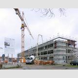 Mehr als 2.200 Quadratmeter Nutzfläche für Forschung  Lehre und Verwaltung stehen der Fakultät für Informatik und Elektrotechnik ab Mitte 2021 auf dem Campus zur Verfügung. © 2020 Staatliches Bau- und Liegenschaftsamt Rostock