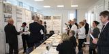 Das Preisgericht im angeregten Gespräch. © 2020  Staatliches Bau- und Liegenschaftsamt Neubrandenburg