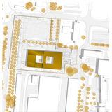 Lageplan des Entwurfes der Bahl Architekten BDA aus Hagen - 3. Preis © 2020  Bahl Architekten BDA aus Hagen