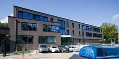 Eine Eigenplanung des BBL M-V wurde erstmals in Heringsdorf umgesetzt. Ein weiteres Polizeirevier nach dieser (Muster)Planung ist 2021 in Sanitz entstanden. © 2019 Betrieb für Bau und Liegenschaften Mecklenburg-Vorpommern