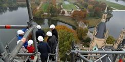 Den Überblick behalten - Baubesprechung über den Dächern der Landeshauptstadt. © 2020 Staatliches Bau- und Liegenschaftsamt Schwerin