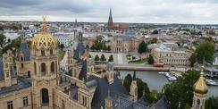 UNESCO-Welterbe soll es werden - arbeiten im baukulturellen Erbe inmitten der Landeshauptstadt Mecklenburg-Vorpommerns. © 2020 Staatliches Bau- und Liegenschaftsamt Schwerin