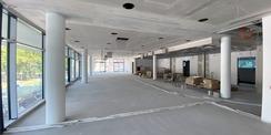 Blick ins Casino. Im 1. Obergeschoss wird das Casino zur Versorgung von Patienten  Besuchern und Mitarbeitenden eingerichtet. © 2020 Christian Hoffmann  FM MV