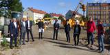 Termin auf der Baustelle am 10. September 2020 - das 11 6 Millionen Euro umfassende Bauprojekt für die Polizei beginnt. Das SBL Greifswald setzt das Bauprojekt in der aktuell geplanten Bauzeit bis Ende 2022 um. © 2020 SBL Greifswald