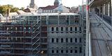 Neubau Gerichtsgebäude mit dem vorhandenen  Grundbuchamt. © 2020 SBL Neubrandenburg
