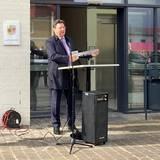 Finanzminister M-V Reinhard Meyer © 2020 SBL Neubrandenburg