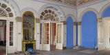Blick in den Blauen Saal  © 2020 SBL Neubrandenburg