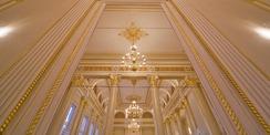Spieglein  Spieglein an der Wand  der Goldene Saal ist einer der schönsten im ganzen Land. © 2020 Christian Hoffmann  FM M-V