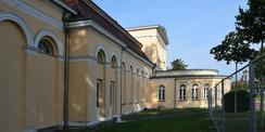Feuchteschäden an der Fassade im Sockelbereich © 2020 SBL Neubrandenburg