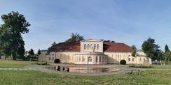Die Orangerie Neustrelitz wird Grund instandgesetzt. © 2020 SBL Neubrandenburg