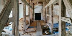 Umbauarbeiten im Dachbereich © 2020 SBL Neubrandenburg
