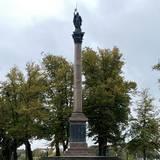 Die Restaurierung der Siegessäule beginnt im November 2020. © 2020 SBL Schwerin