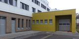 Im eingeschossigen  aus der kompakten Gebäudestruktur herausgezogenem Anbau im Hofbereich befindet sich der Gewahrsam. © 2020 SBL Greifswald