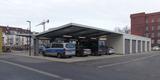 Garagen- und Carportanlage im Hofbereich © 2020 SBL Greifswald