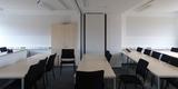 Schulungsraum - eine mobile Trennwand ermöglicht variable Nutzungen entsprechend Bedarf © 2020 SBL Greifswald