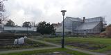 Blick von Nordosten auf die historischen Gewächshäuser © 2020 SBL Greifswald
