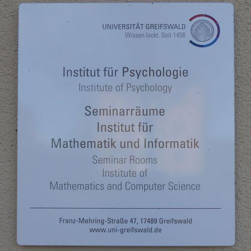 Universität Psychologie