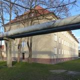 nach der Sanierung - Blick auf den Südgiebel an der Hofseite © 2021 SBL Greifswald