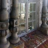 Auch die Fenster müssen instandgesetzt werden. © 2021 SBL Schwerin