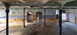 Historischer Bestand mit gusseisernen Stützen und Kappengewölben © 2021 SBL Neubrandenburg