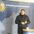 Finanzministers Reinhard Meyer bei seinem Grußwort © 2021 SBL Greifswald
