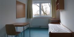 Blick in ein Einzelzimmer © 2021 SBL Greifswald
