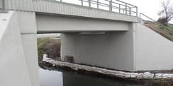 02.12.2020 - Erstklassig! Die Brücke über die Recknitz ist saniert. Die Züge können hier jetzt ohne Beschränkung der Geschwindigkeit fahren. © 2021 SBL Rostock